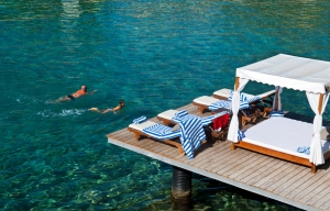 Oh... that crystal clear water!